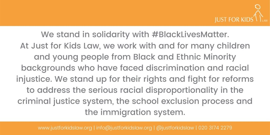We stand in solidarity with #BlackLivesMatter